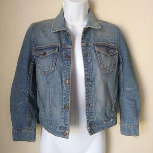 Free People Denim Jacket Women's Size XS